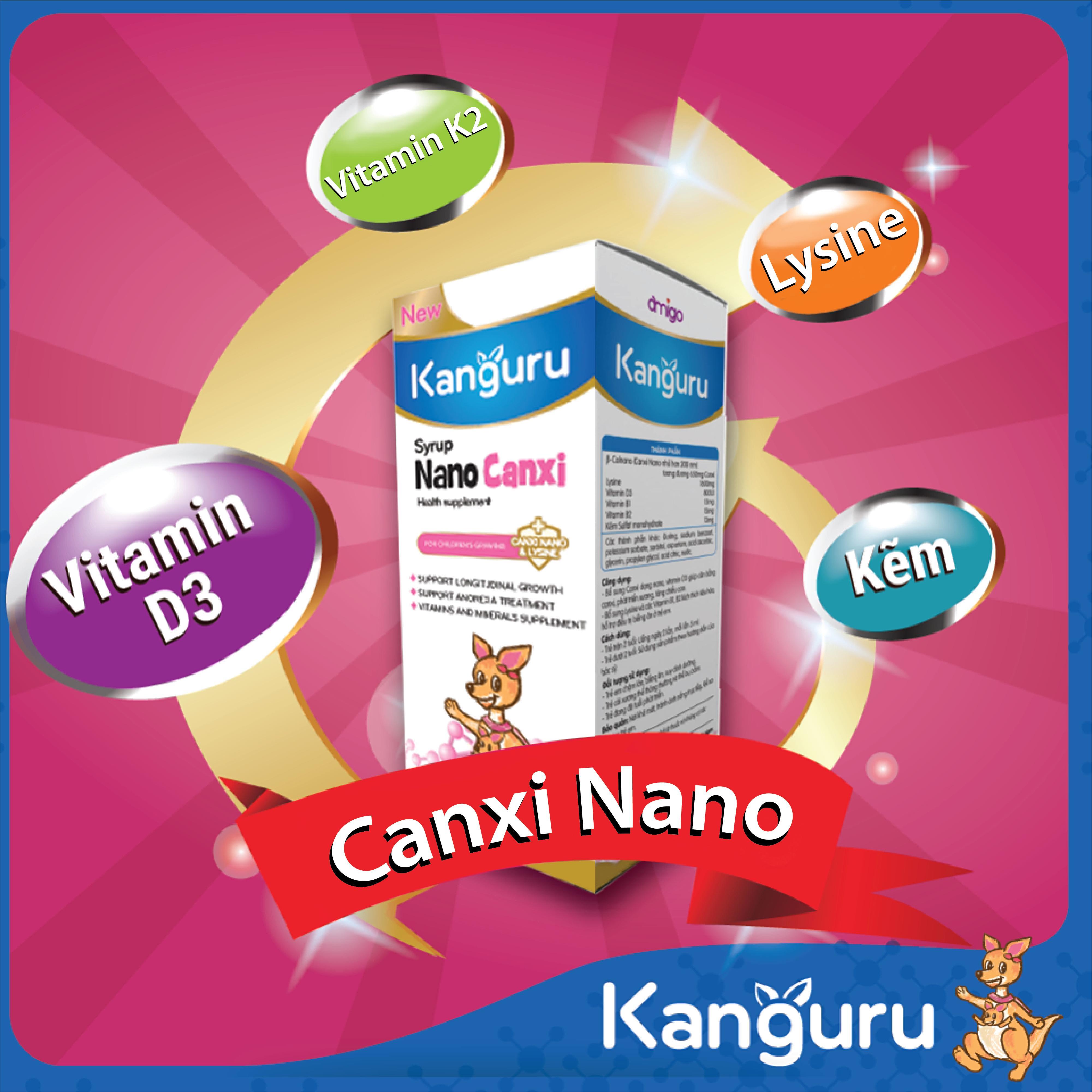 Canxi, vitamin D3, K2 – Bộ 3 dưỡng chất quyết định chiều cao của trẻ
