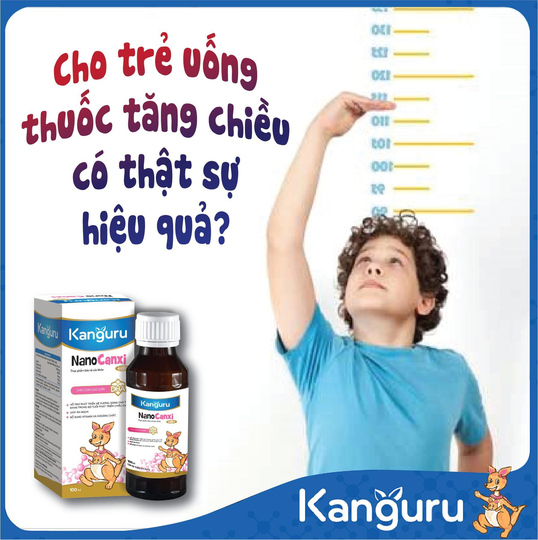 Có nên cho trẻ uống thuốc tăng chiều cao?