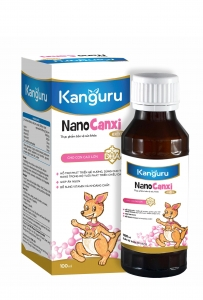 Siro Kanguru Nano Canxi